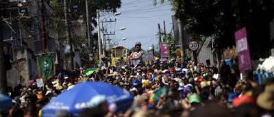 Seis pessoas são presas pela Guarda Municipal por furtos em blocos no Rio de Janeiro
