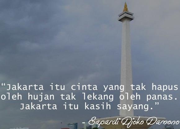 Jakarta Itu Cinta Yang Tak Hapus - NetterKu.com