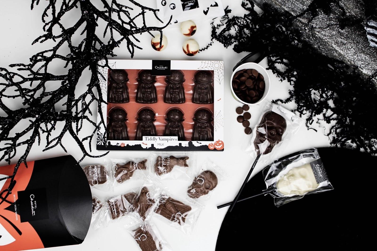 Hotel Chocolat Halloween Flatlay Blog Giveaway