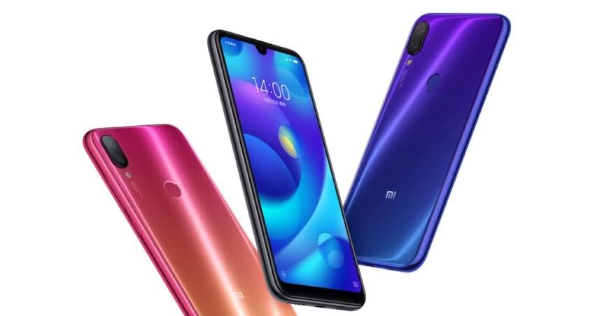 specifications  Xiaomi Mi Play: the display with the teardrop projection and the latest MediaTek processor