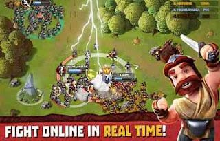 تحميل Tiny Armies Online Battles مهكرة اون لاين