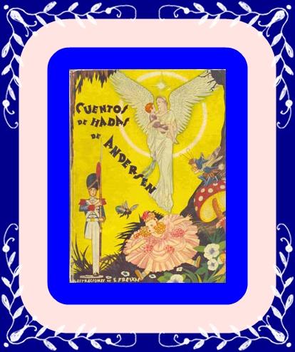 Libro de cuentos de Andersen.Años50.