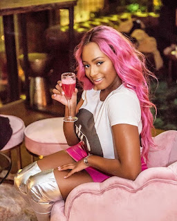 DJ Cuppy Drinks To Her Haters