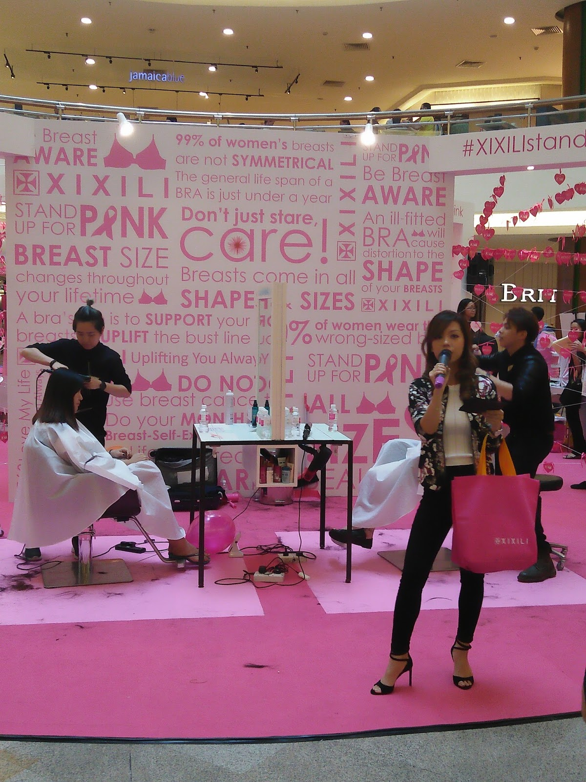 Xixili Breast Cancer Awareness Campaign At Midvalley South Court