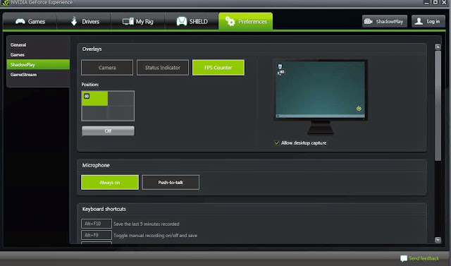 geforce driver graphics user interface