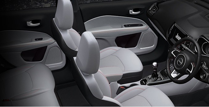 Jeep Compass SUV Interiors