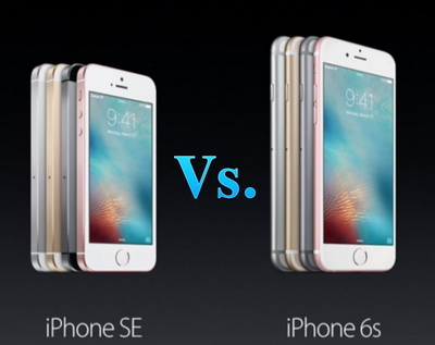 Komparasi iPhone SE vs. iPhone 6s