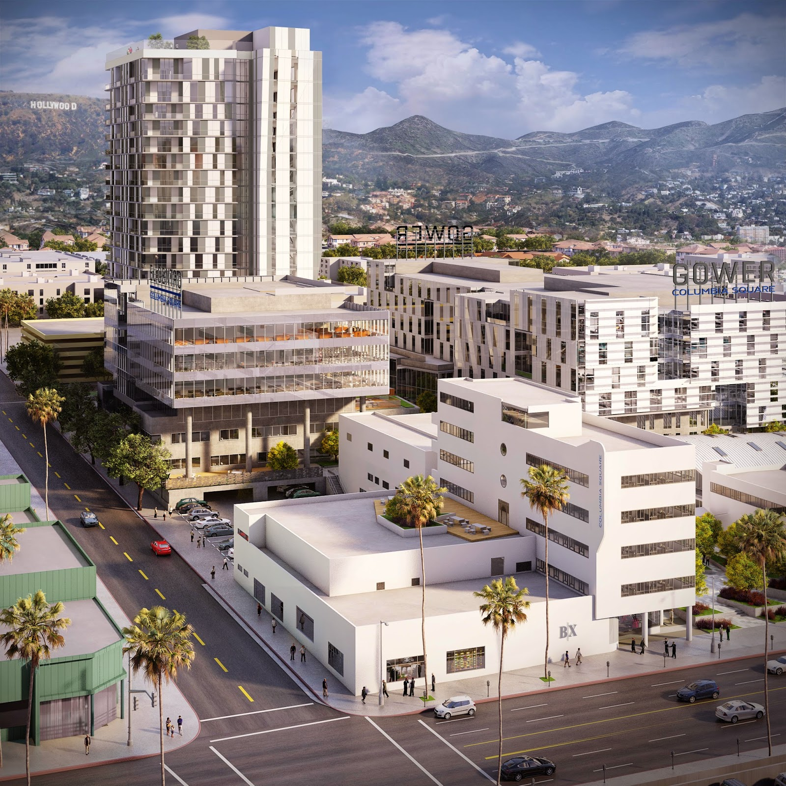 Building Los Angeles: Columbia Square Now Going Vertical