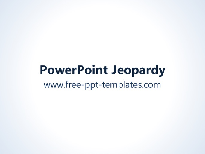 jeopardy ppt template. Black Bedroom Furniture Sets. Home Design Ideas