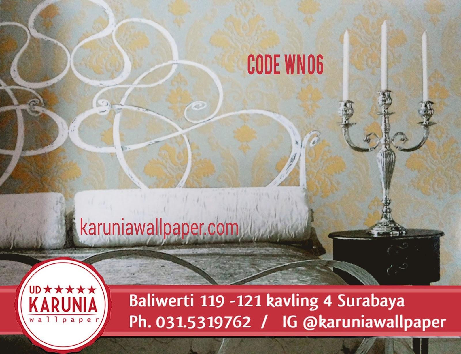 jual wallpaper motif vinatge murah surabaya