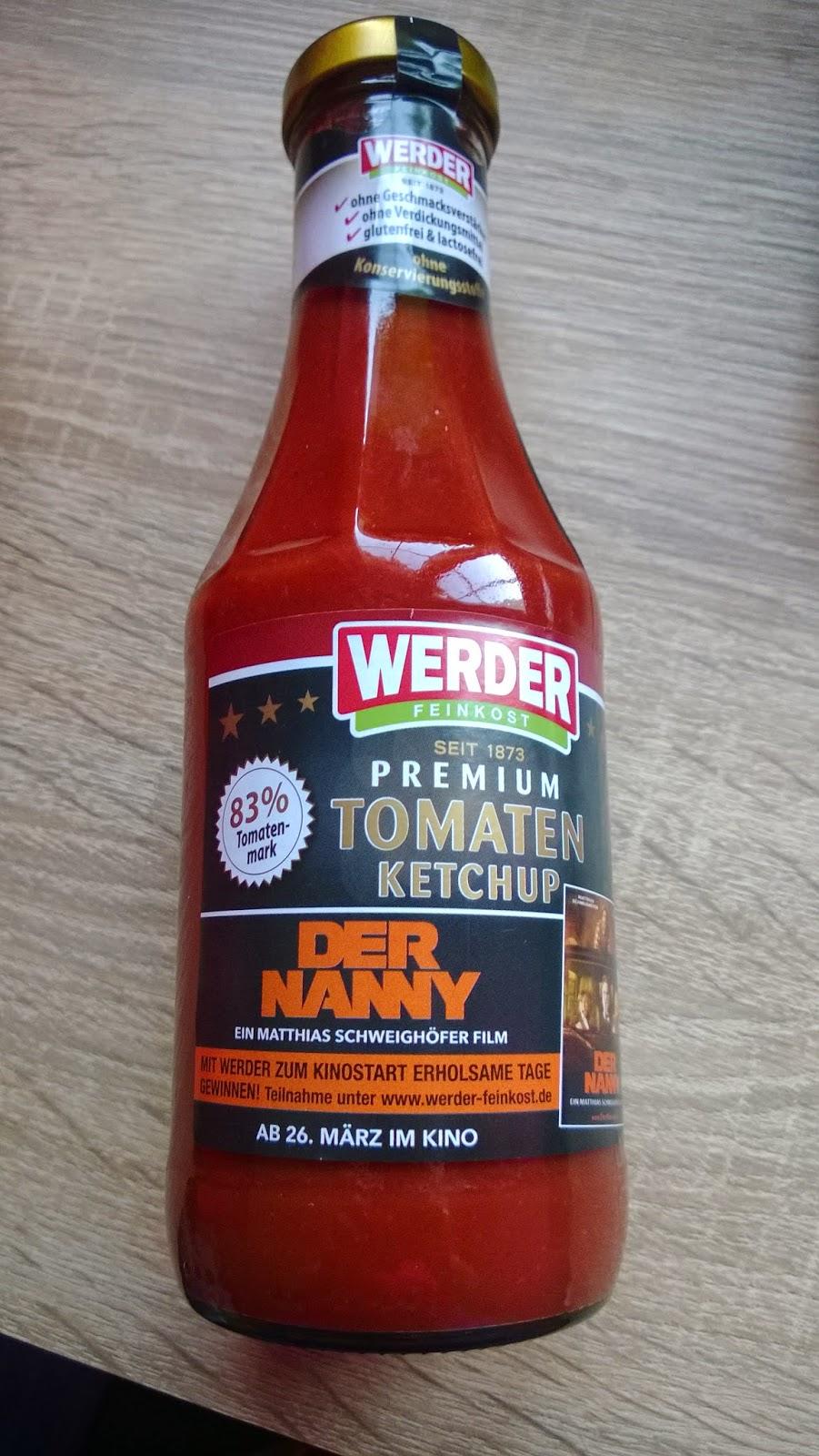 Premium Tomaten Ketchup.