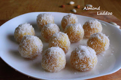 almond ladoo badam laddu for festivals sweets burfi healthy sweets