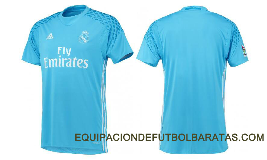 Equipacion De Futbol Baratas  Nueva camiseta de portero del Real ... f4157dcbf2f