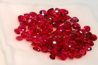 raw spinel stones