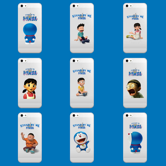 Katalog Customcase Doraemon (Stand by me)