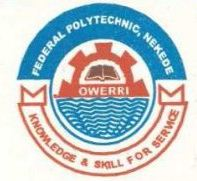 Fed Poly Nekede ND Supplementary Admission Form 2018/2019