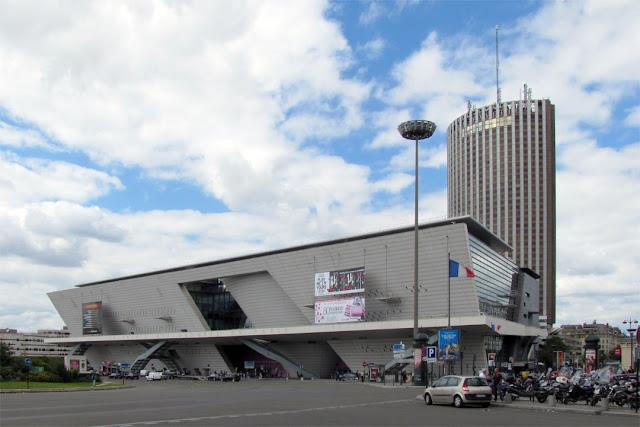 Palais des congrès de Paris by Guillaume Gillet, Place de la Porte Maillot, Paris
