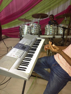 makossa on the piano