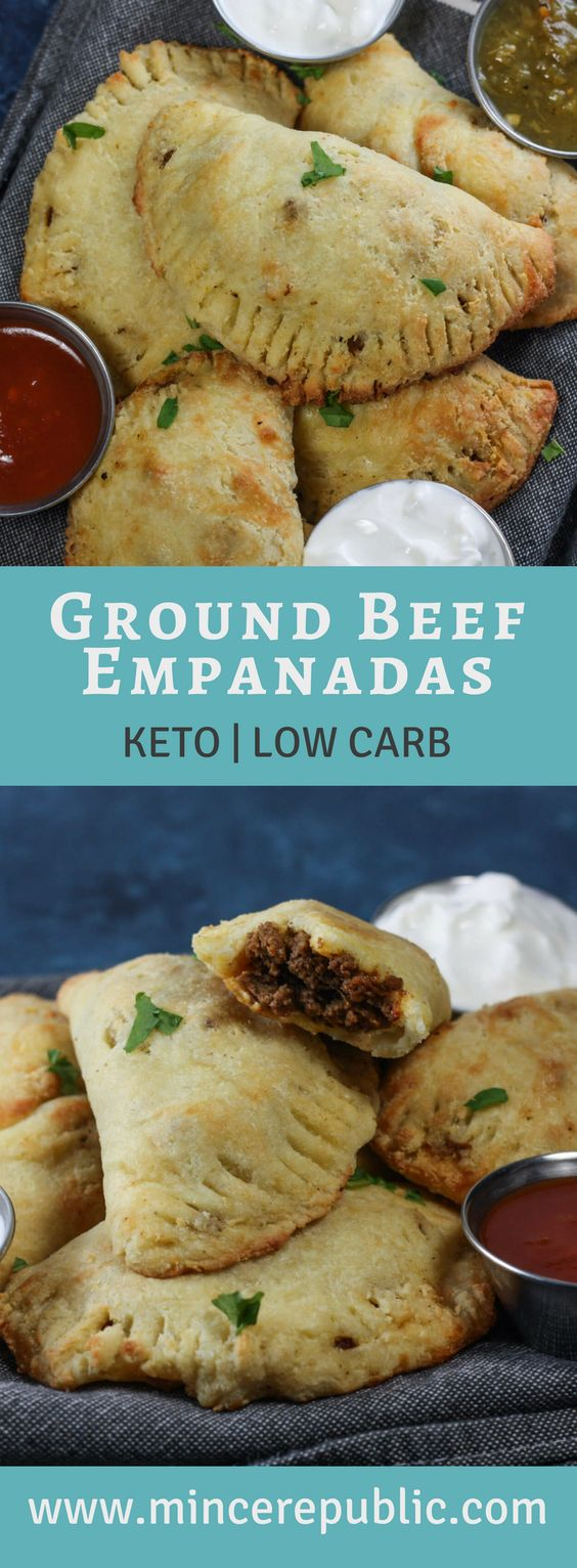 ★★★★☆ 7561 ratings | GROUND BEEF EMPANADAS (KETO, LOW CARB) #HEALTHYFOOD #EASYRECIPES #DINNER #LAUCH #DELICIOUS #EASY #HOLIDAYS #RECIPE #GROUND #BEEF #EMPANADAS #KETO #LOWCARB