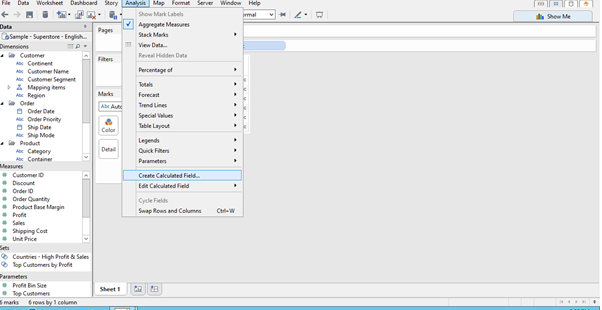 TABLEAU GURUS: Creating Empty Extracts in Tableau