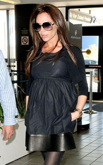 Styleista Baby Victoria Beckhams Pregnancy Style