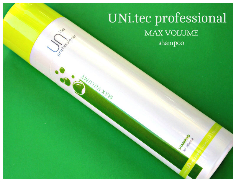 Review: UNi.tec professional MAX VOLUME shampoo