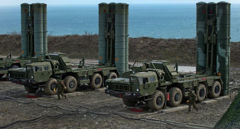 S-400 Rusia disebarkan di Crimea