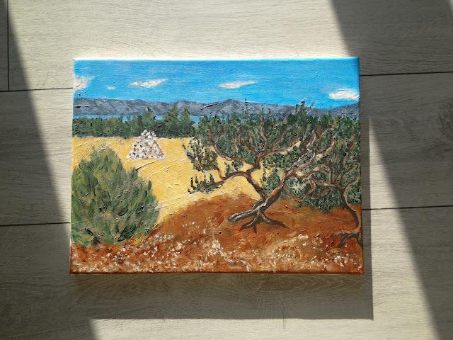 #olivetrees #maslinik #otokhvar #zastražišće