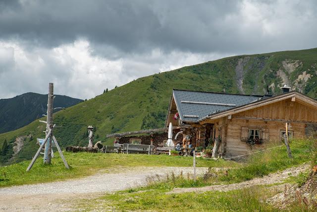 Almwanderung zur Hochkaseralm  Wandern Hochkönig  Wanderung SalzburgerLand 11