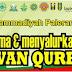 Daftar Panitia Penerimaan dan Penyaluran Hewan Qurban PCM Paleran Tahun 2017