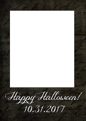 Free Halloween photo card templates