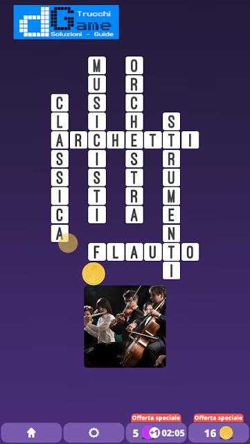 Soluzioni One Clue Crossword livello 8 schemi 15 (Cruciverba illustrato)  | Parole e foto