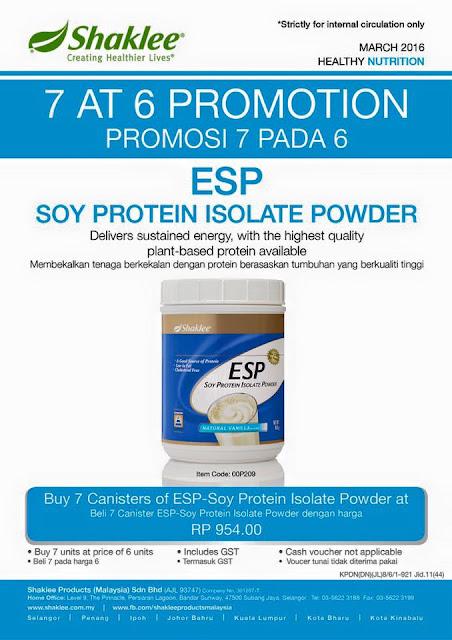 ESP Buy 6 FREE 1!