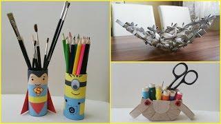 10 DIY Toilet paper roll crafts