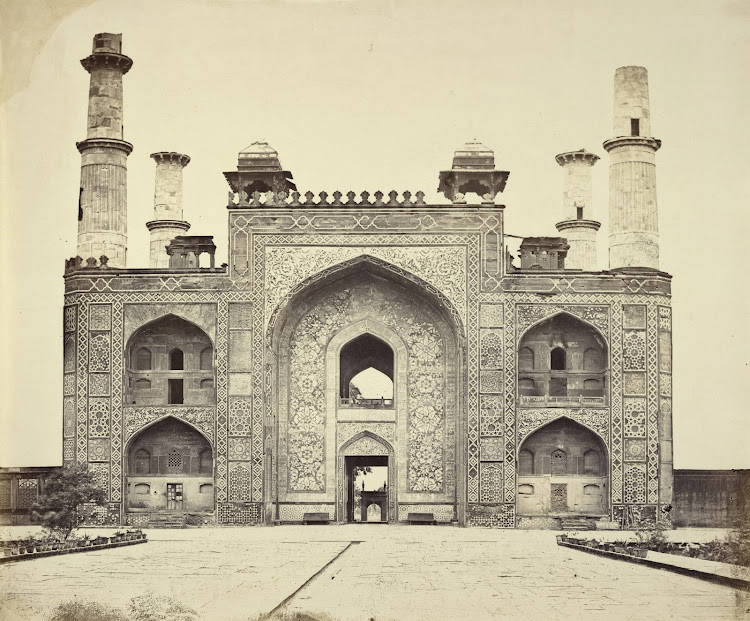 Gateway of Tomb of Akbar