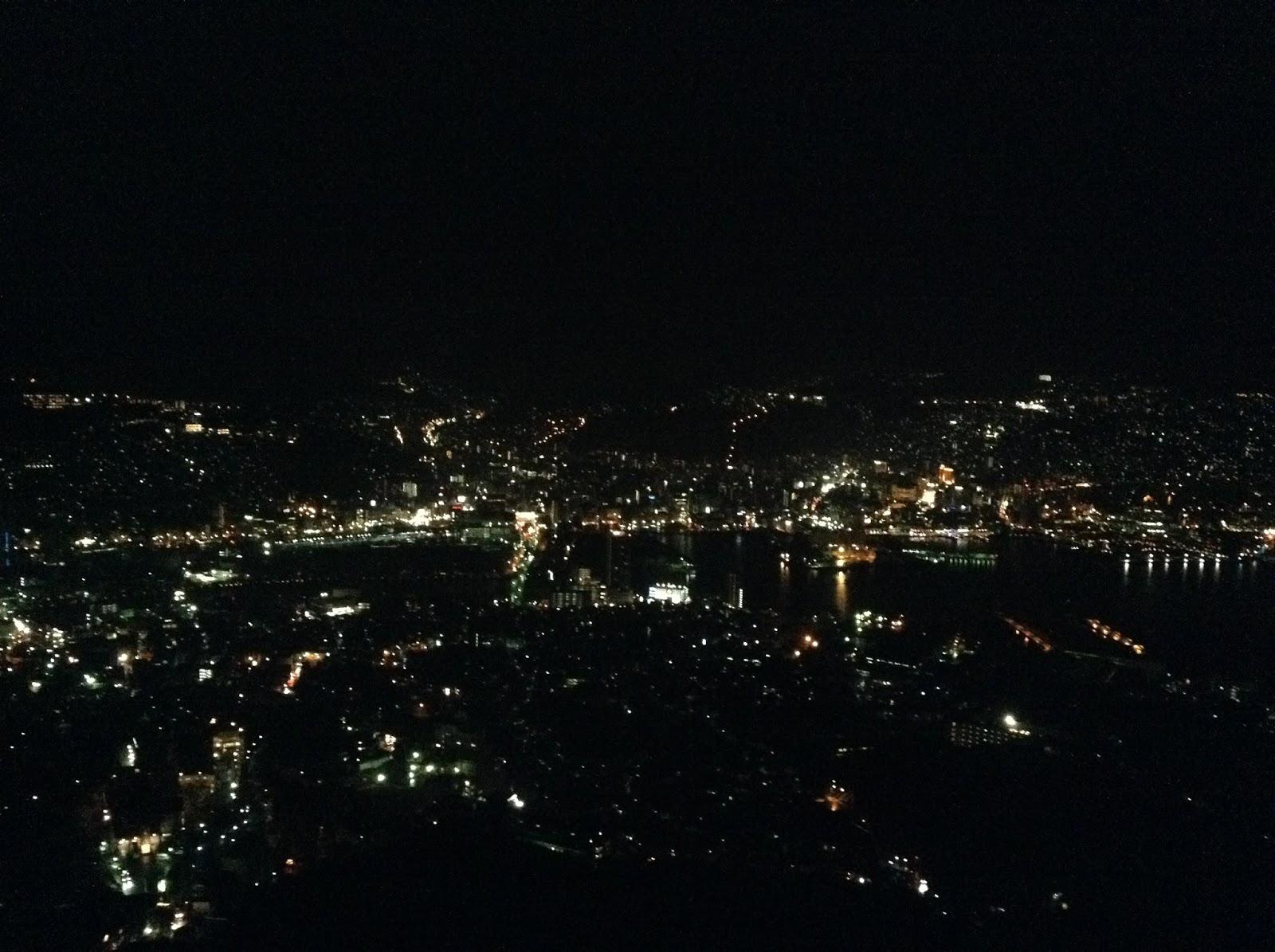 Inasayama Nagasaki night