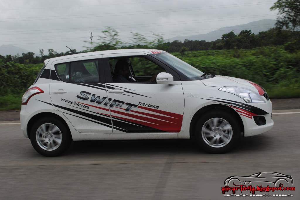 automotive craze maruti suzuki swift new version test drive and review. Black Bedroom Furniture Sets. Home Design Ideas