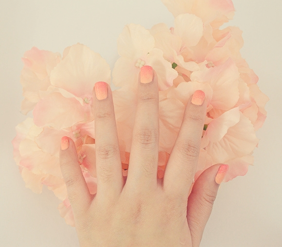 Diy Autumn Gradient Nail Art: Queen Of All You See: DIY : Gradient Ombre Nail Art