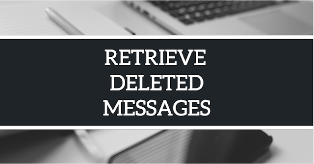 How to Get Back Deleted Messages On Facebook | Retrieve My Facebook Deleted Messages