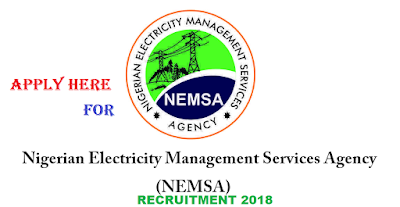Apply For Nigerian Electricity Management Service Agency Recruitment 2018/2019 | NEMSA Recruitment Requirement