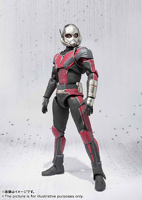 Ant-Man SH Figuarts tratto dal film Captain America: Civil War