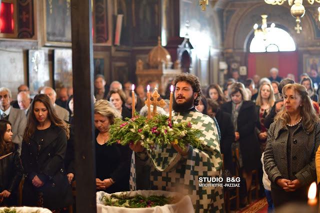 Η Μεγάλη γιορτή της Σταυροπροσκυνήσεως στην Αγία Τριάδα Ναυπλίου (βίντεο)