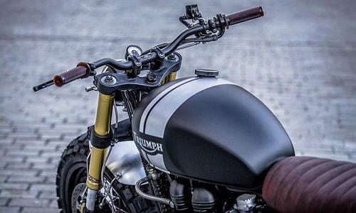 Tinuku Info Modifikasi Triumph Bonneville T100 Modis Cafe Racer Makin Kekar