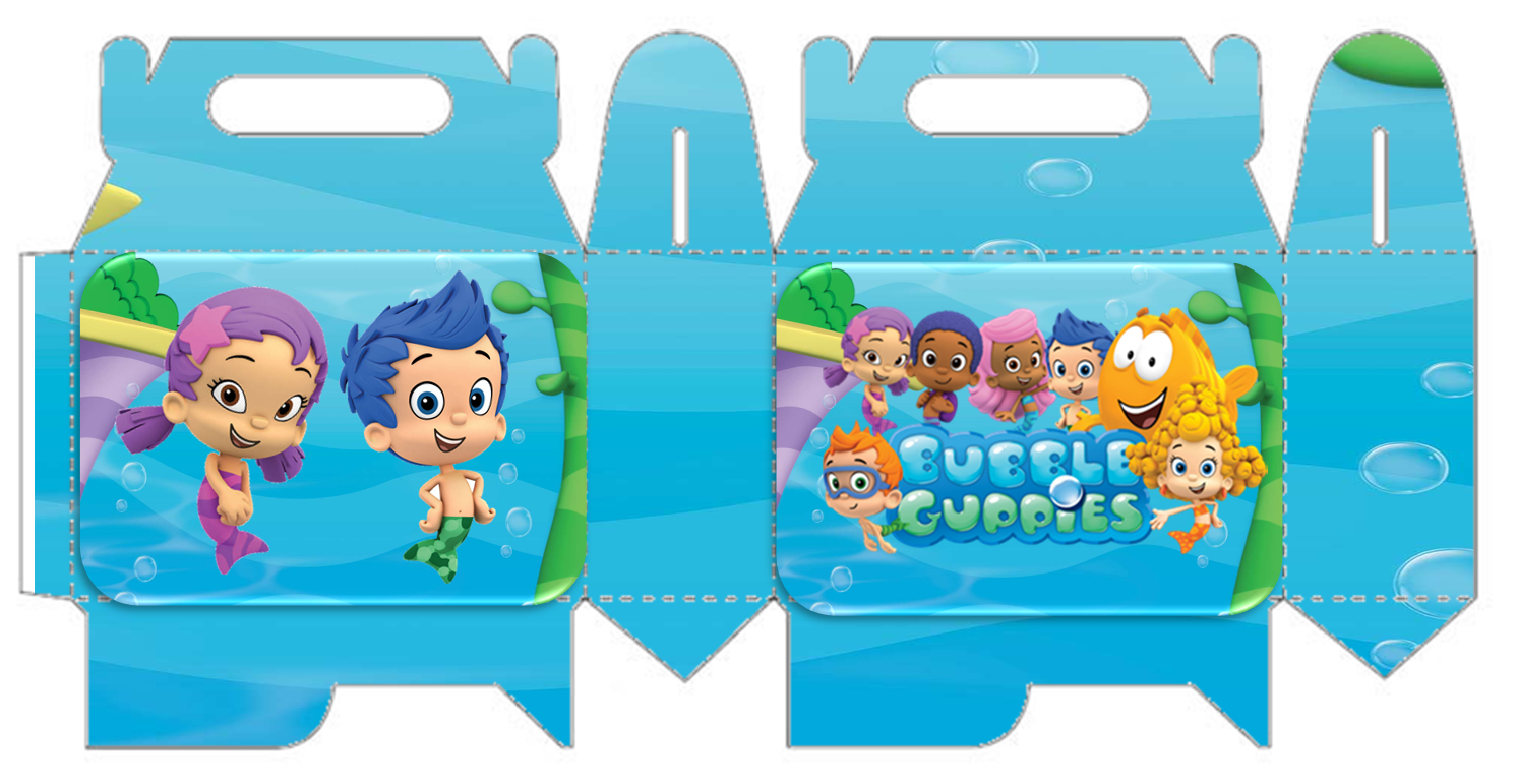 Bubble Guppies Free Printable Lunch Box