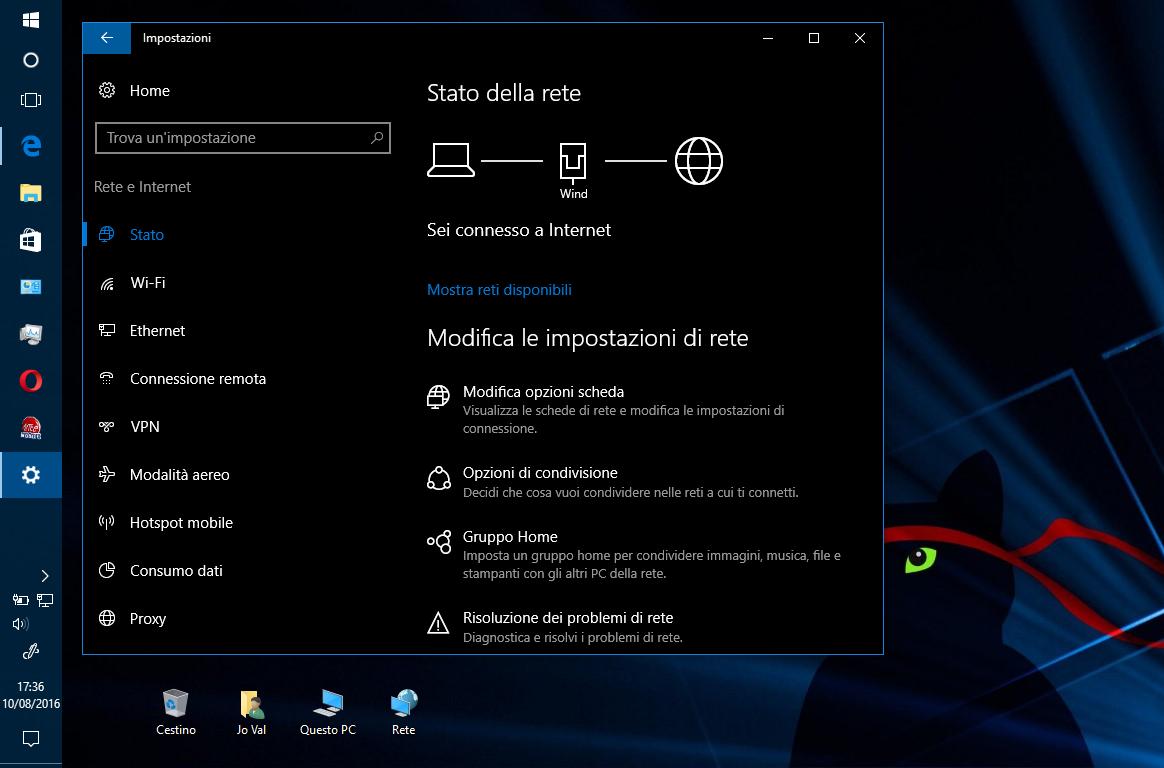 Come effettuare un Reset di rete in Windows 10 HTNovo