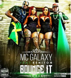 """MC Galaxy released a multi million naira censored and uncensored versions of his new video Bounce It Remix and a comedy.  Mc Galaxy also known as the King of New Dance in Africa has really made it in the music industry after he won a mega deal from Walt Disney for his wonderful son """"Sekem"""" which was used in Queen for Katwe Movie.  He recently released the official visuals for His new international music """"Bounce it RMX"""".  MC Galaxy featured the Jamaica international Raggae / Dance hall Artist Beniton and international super models Double Dose Twins.  He released a two versions of the video. One which has been censored and the other HMMM which has not be censored for the international market.  The remix video which cost a fortune was shot in the United states of America and Nigeria by Wole Ogundare of Blaze Productions."""