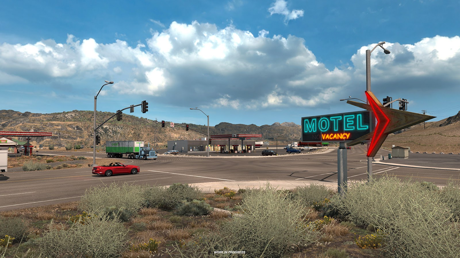 ... Refuel Your Truck, Relax For Awhile, Or Stay Overnight Before  Continuing Your Long Journey. There Are Some Quite Notorious Truck Stops In  Development.
