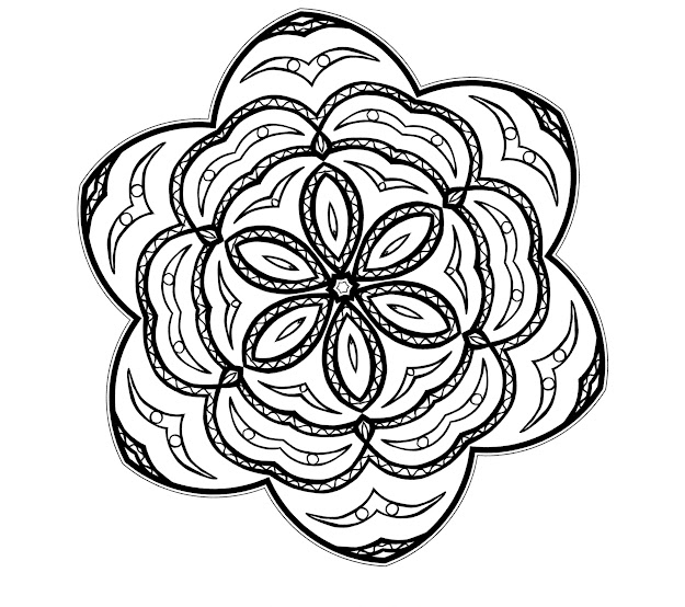 Free Printable Mandalas Coloring Sheets