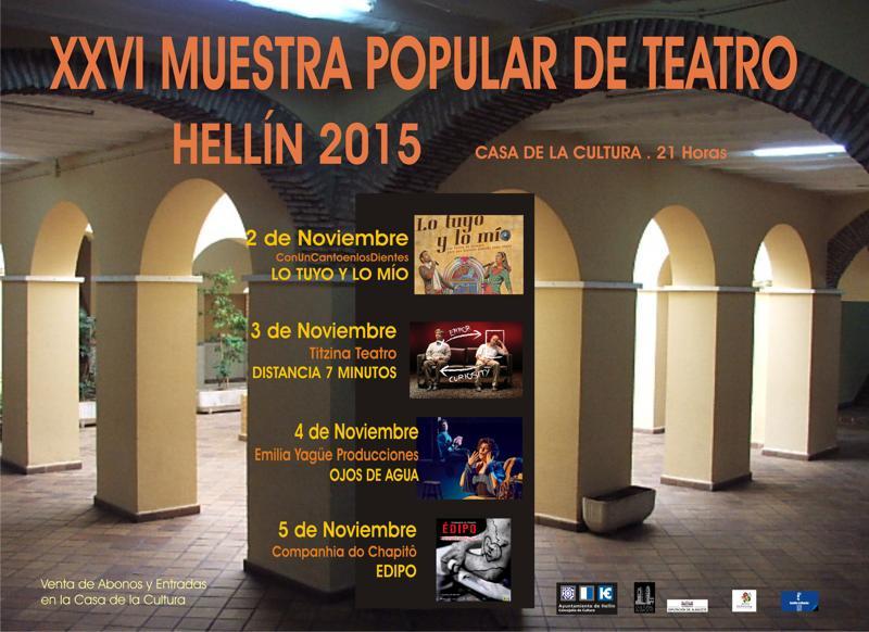Agenda cultural oto o 2015 red de bibliotecas de hell n - Casas en hellin ...
