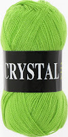 пряжа Vita  Crystal яркая зелень